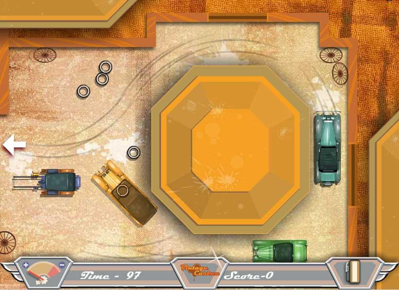 Игра Винтажные машины онлайн