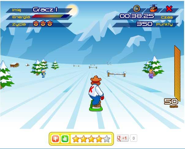 Игра Мастер Сноуборда онлайн