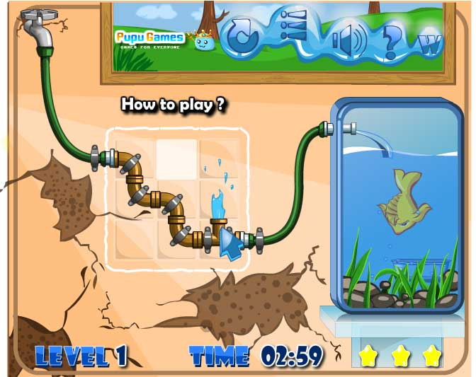 Игра Мне нужна вода! онлайн