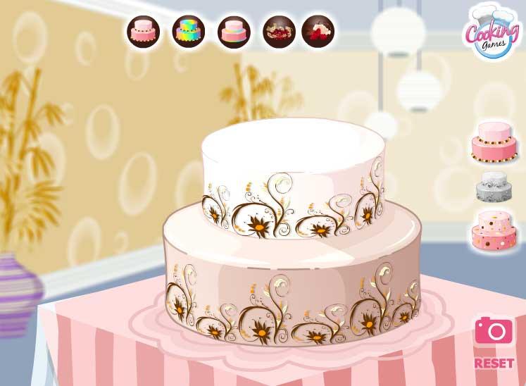 Игра Потрясающий торт онлайн