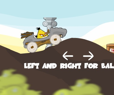Игра Птички на машине онлайн