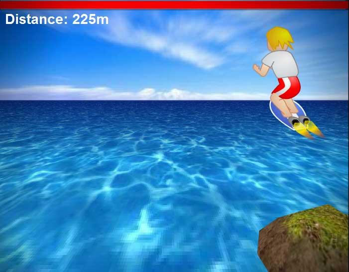 Игра Ракетный серф онлайн