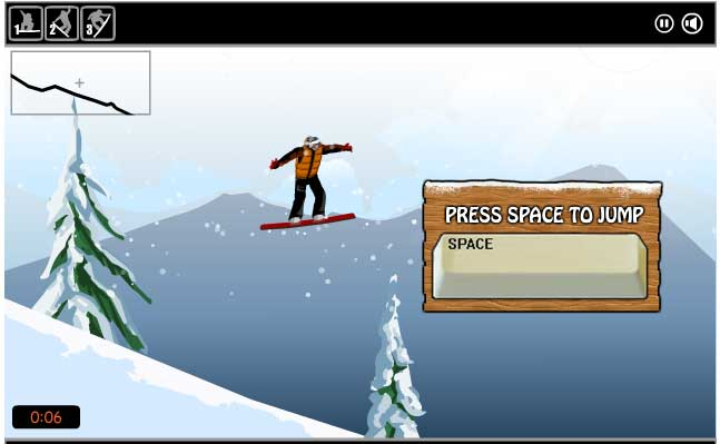 Игра Снежный Серфинг онлайн