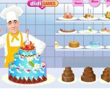 Игра Создать торт на свадьбу онлайн