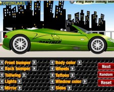 Игра Тюнинг Convertible Supercar онлайн