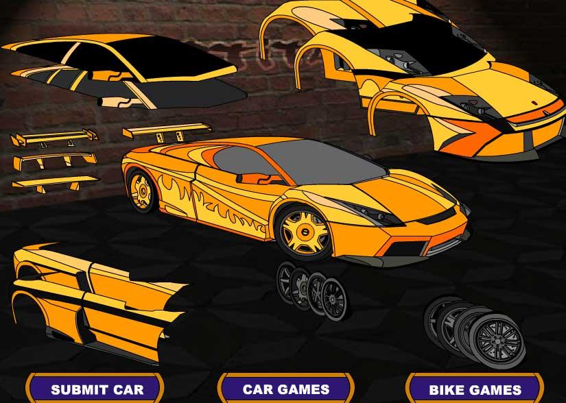 Игра Тюнинг Lamborghini Diablo онлайн