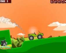 Игра Вождение по склону онлайн