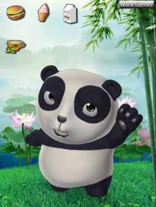 Игра Говорящая панда онлайн