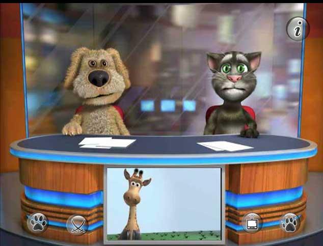 Игра Говорящий кот Том 3 онлайн