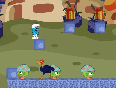 Игра Деревня Смурфов онлайн