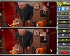 Игра Злодей найди отличия онлайн