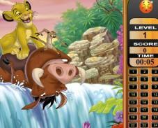 Игра Король Лев ищем цифры онлайн