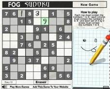 Игра Кроссворд судоку онлайн