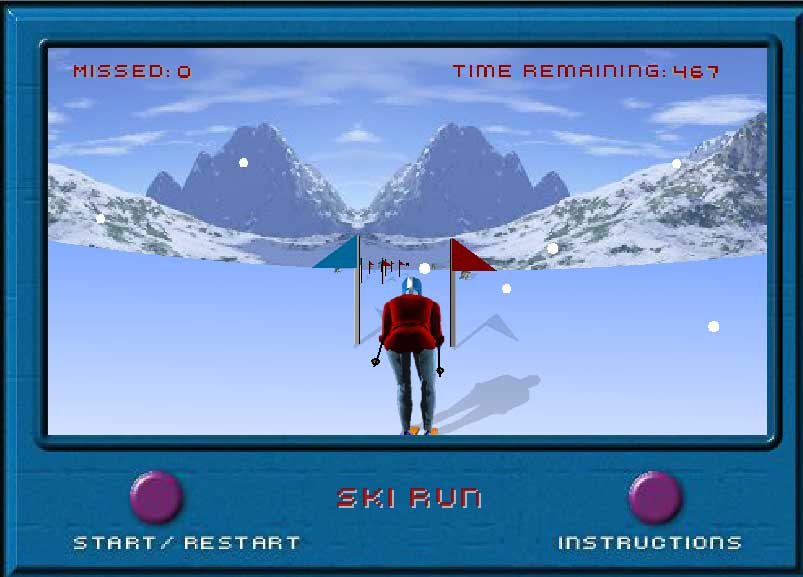 Игра Лыжная гонка онлайн