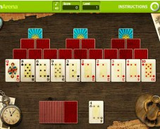 Игра Пасьянс Скарабей онлайн