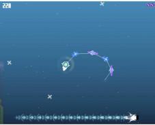 Игра Поедатель снежинок онлайн
