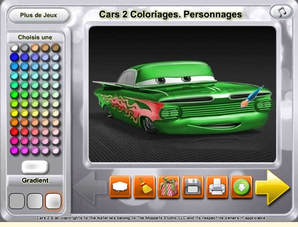 Игра Разукрась машины онлайн