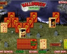 Игра Солитер на Хэллоуин онлайн