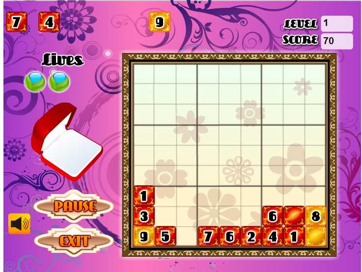 Игра Судоку укладчик онлайн