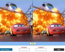 Игра Тачки игра на отличия онлайн