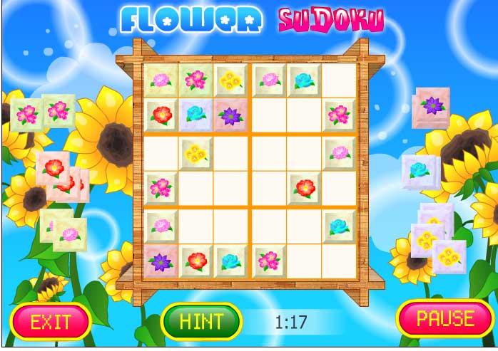 Игра Цветная Судоку онлайн
