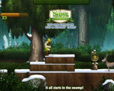 Игра Шрек 4 Рождественское приключение онлайн