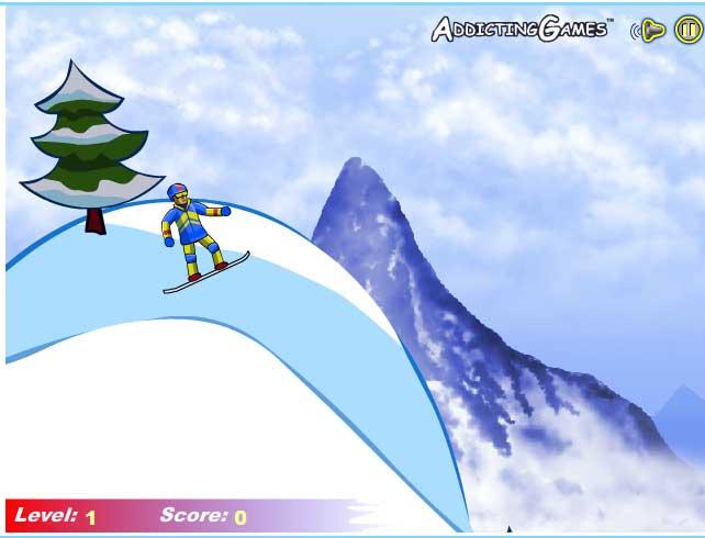 Игра Экстремальный Сноубординг онлайн