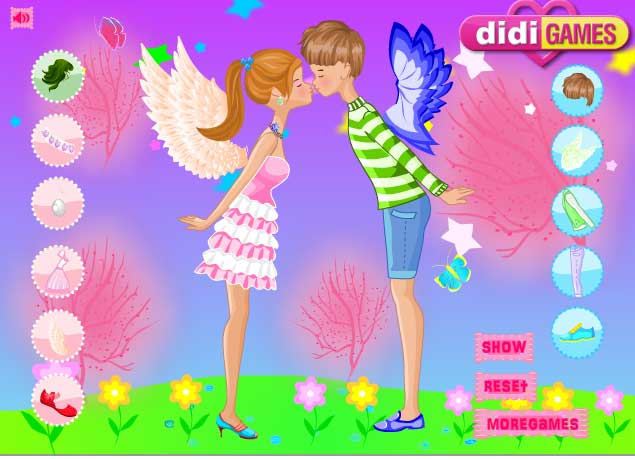 Игра Ангельский поцелуй онлайн