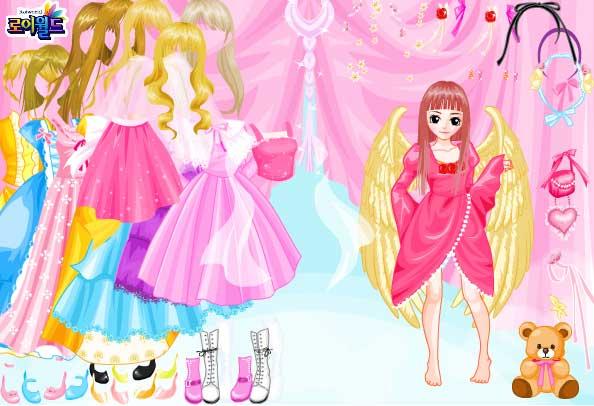 Игра Вечернее платье Ангела онлайн