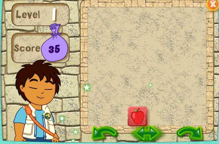 Игра Головоломка с Диего для детей онлайн