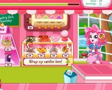 Игра Девушки Эквестрии и кафе Пинки Пай онлайн