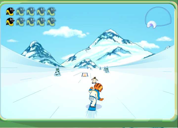Игра Диего на сноуборде онлайн