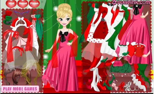 Игра Друзья Ангелов — Рождественский наряд онлайн