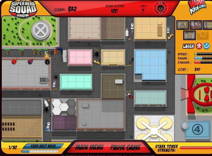 Игра Защита башни Старка онлайн