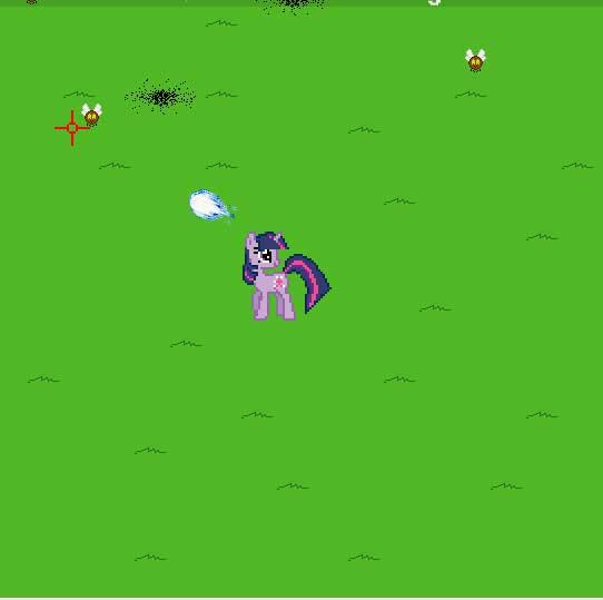 Игра Искорка против параспрайтов онлайн