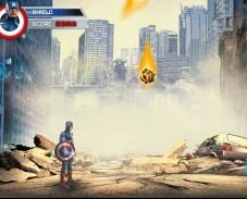 Игра Капитан Америка Щит онлайн