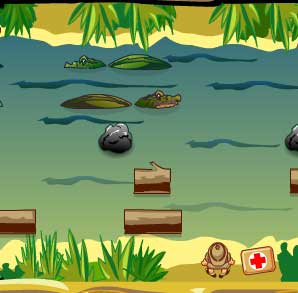 Игра Крокодильчик Свомпи и доктор онлайн