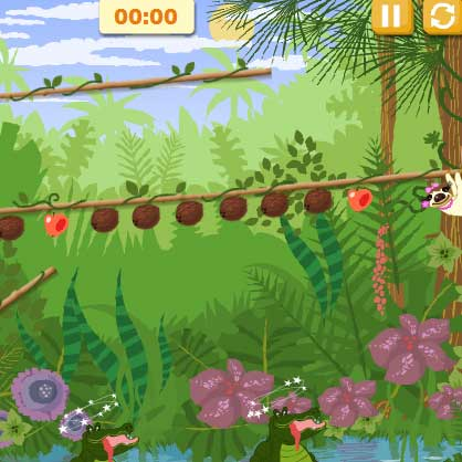 Игра Крокодильчик Свомпи и ленивцы онлайн