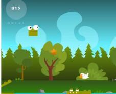 Игра Крокодильчик Свомпи и лягушка онлайн