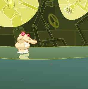 Игра Крокодильчик Свомпи обедает онлайн
