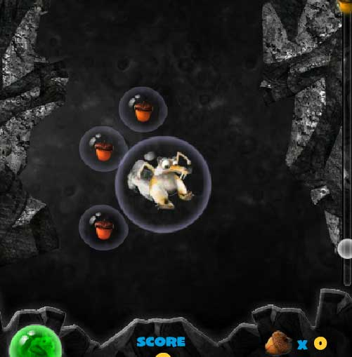 Игра Ледниковый Период 3 Пузыри онлайн