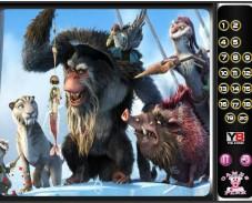 Игра Ледниковый Период 4 — Скрытые цифры онлайн