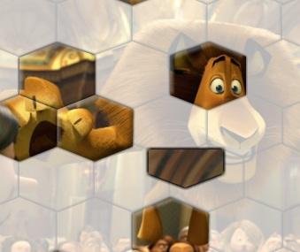 Игра Мадагаскар пазл онлайн
