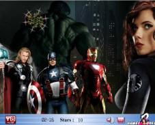 Игра Мстители — найди звезды онлайн