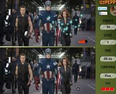 Игра Мстители — найди отличия онлайн