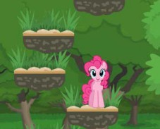 Игра Пинки Пай доберись до верха онлайн