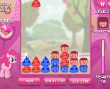 Игра Пинки Пай и кексики онлайн