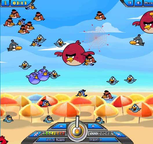 Игра Ловля птичек онлайн