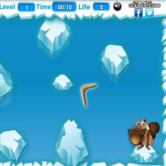 Игра Скрэт пожиратель орехов онлайн