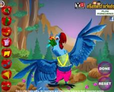 Игра Создай своих птичек Рио онлайн